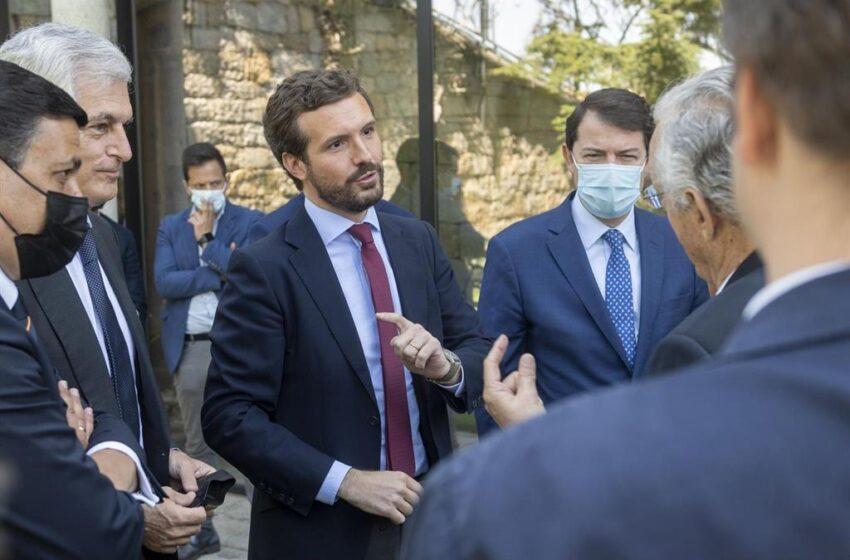 Casado anuncia que sustituirá la Ley de Memoria por una Ley de Concordia «en positivo» si llega a Moncloa