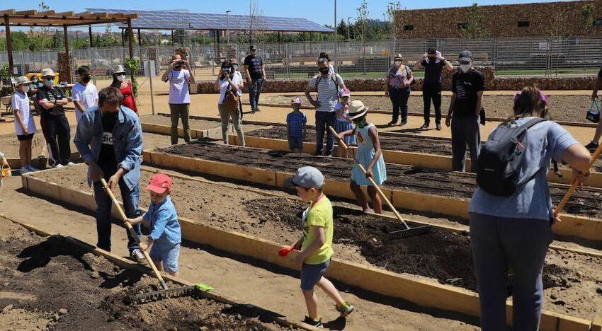 Los huertos urbanos de Salamanca protagonizan una jornada europea sobre agricultura en ciudades