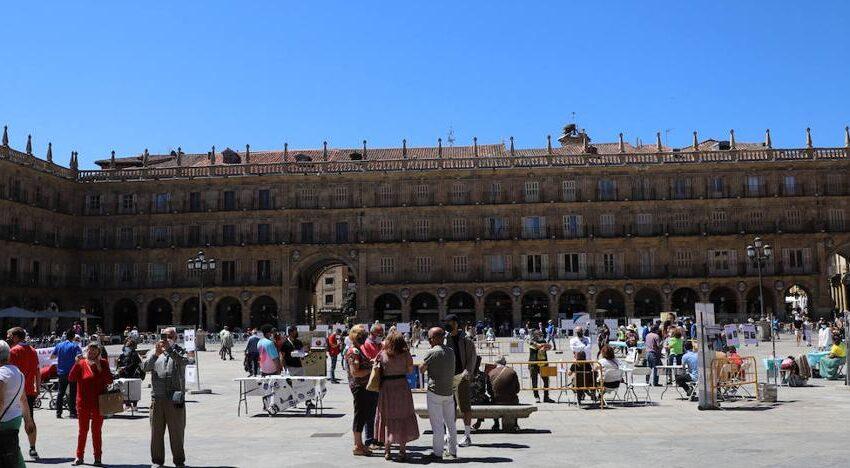Salamanca registra un incremento del 26,06% de viajeros en la ciudad respecto al mes de mayo