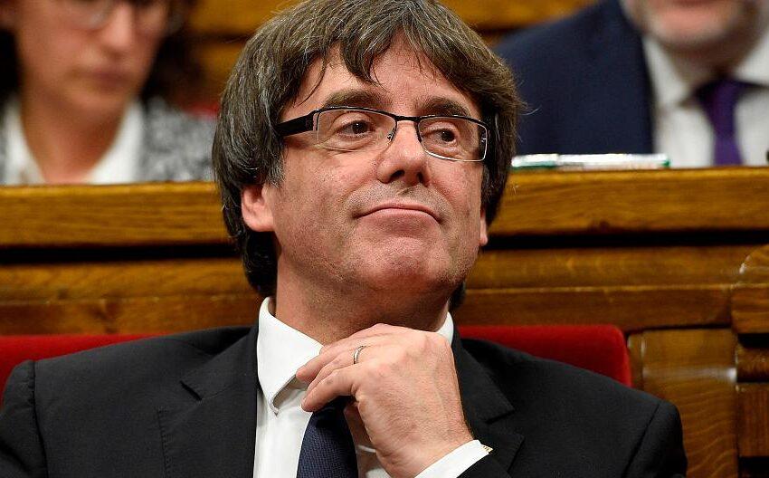 Sobre el ex presidente de la Generalitat de Cataluña pesaba la orden de busca y captura del Tribunal Supremo