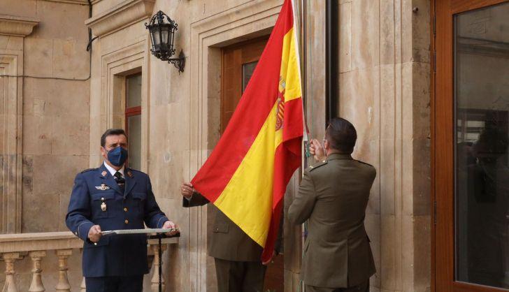 VÍDEO | Honra y solemnidad en la celebración del Día de la Subdelegación de Defensa