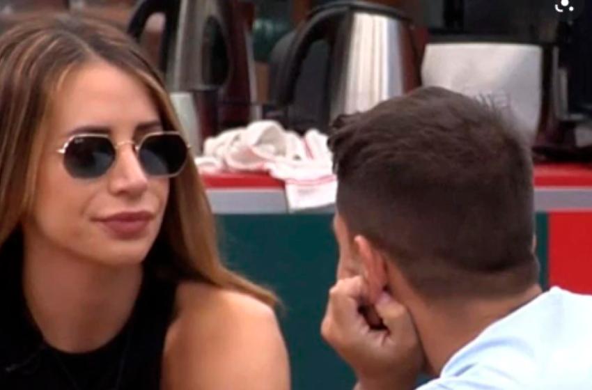 Miguel Frigenti y Cristina Porta se mantienen alejados de sus compañeros de Secret Story