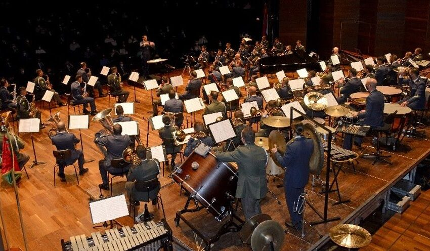 La Unidad de Música Militar de la Academia Básica del Aire de León actuará en el CAEM