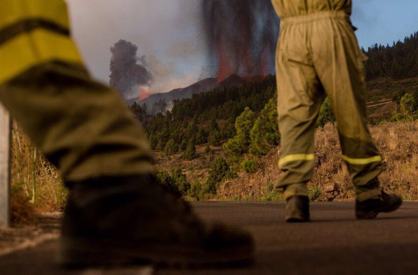 Maroto «matiza» sus declaraciones sobre el volcán: «Hoy estamos con las víctimas de la catástrofe»
