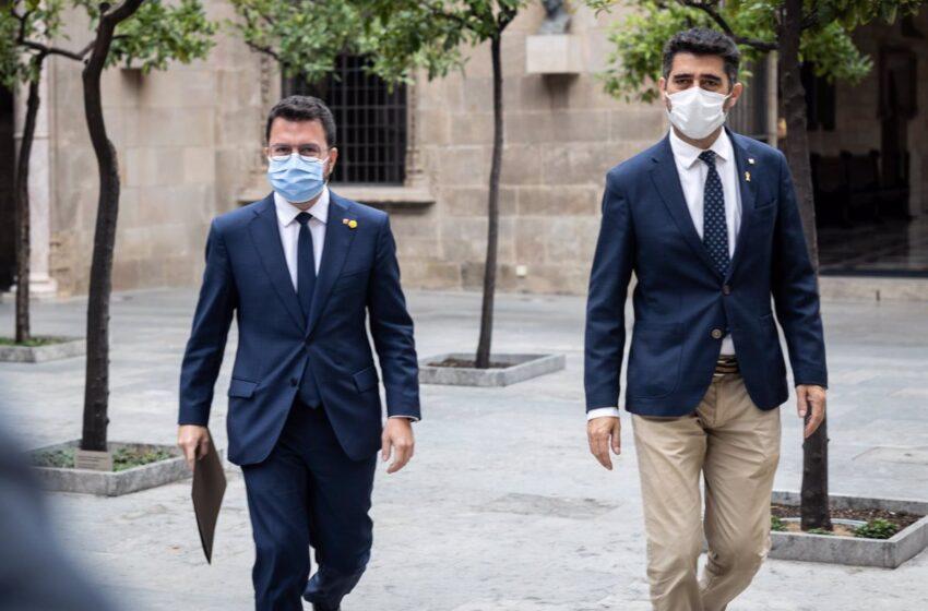 Aragonès exige la puesta en libertad de Puigdemont porque es un «clamor» en Catalunya