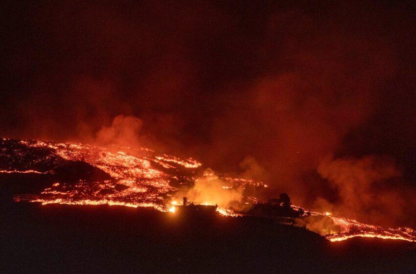 La erupción de La Palma cumple este domingo una semana dejando casi 6.000 evacuados y unas 400 edificaciones dañadas